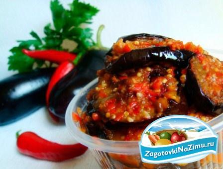 Рецепт салата огонек