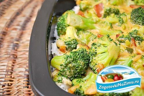 Замороженные брокколи в духовке рецепт 198