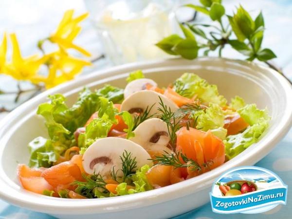 рецепты оригинальных салатов дети