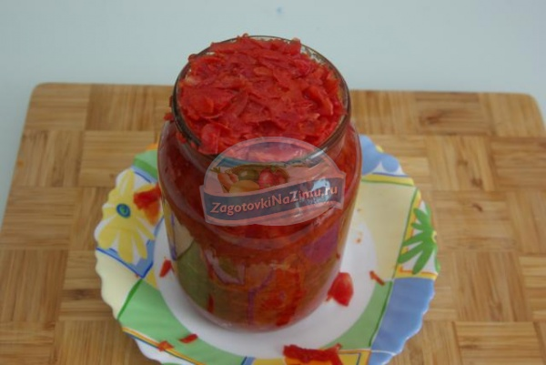 рецепт приготовления борща на зиму без помидор