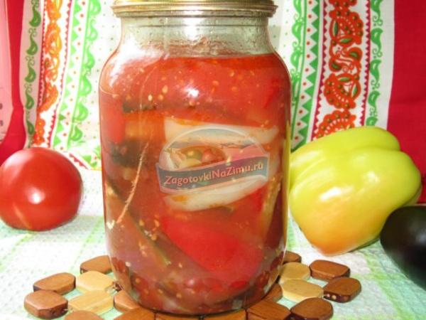 Рецепт перец томатный сок