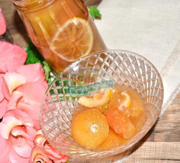 Варенье из лимона рецепт с пошагово