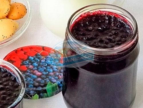 варенье из черники: пошаговые рецепты с фото.