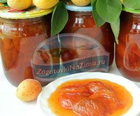 Варенье из абрикосов дольками. Рецепт с пошаговыми фото
