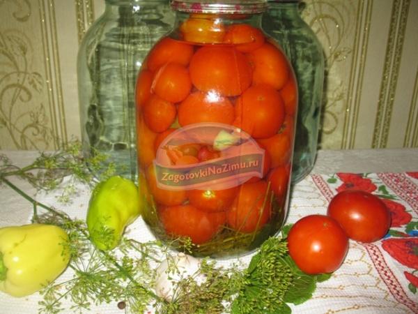 целые помидоры на зиму рецепты фото
