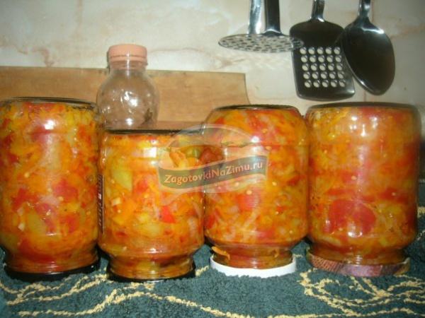 Лечо на зиму Рецепт лечо из болгарского перца - салат