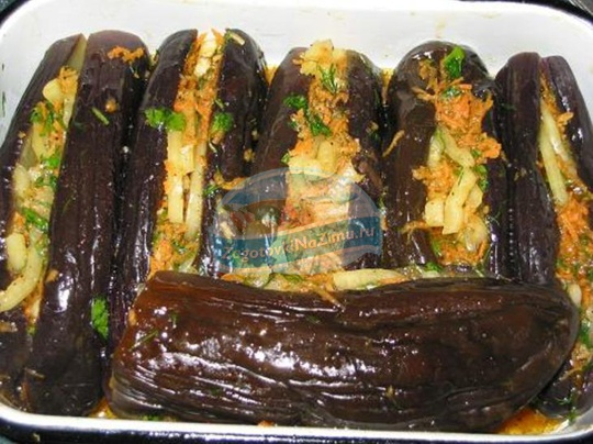 закуска из баклажанов на зиму: популярные рецепты с фото