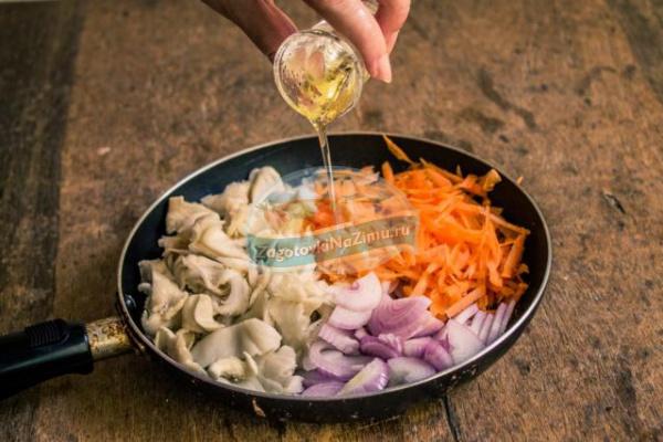 икра грибная рецепт с луком и морковью