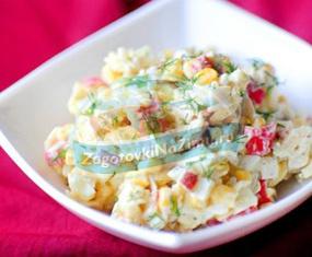 Вкусные и полезные салаты
