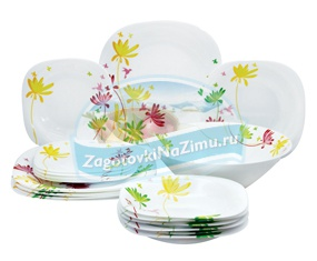 Столовая посуда. Выбираем красивую и качественную