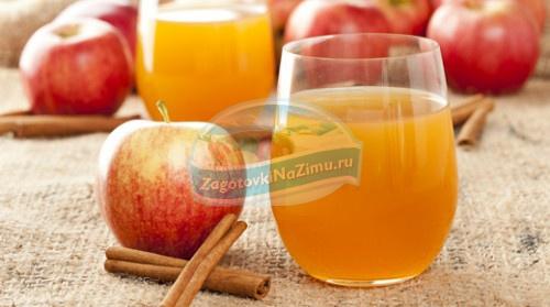 Приготовление сока на зиму из яблок: купажированные рецепты