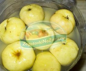 Яблоки антоновка. Как мочить на зиму?