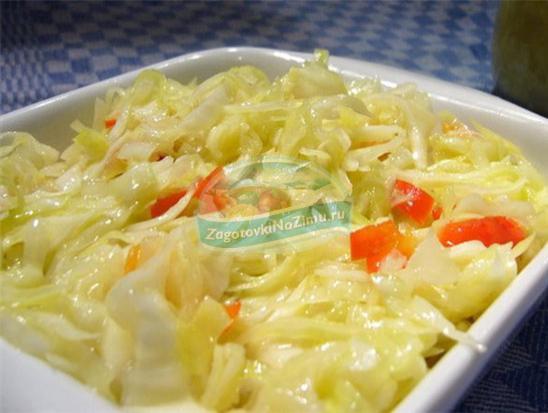 маринованная капуста: рецепты на любой вкус