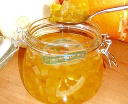 Варенье из кабачков с апельсином: лучшие рецепты с фото