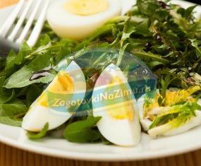 салат из одуванчиков: лучшие рецепты с фото