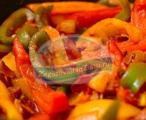 Болгарский перец. Рецепты на зиму с фото