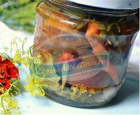 Самые вкусные рецепты: Солим помидоры с бархатцами