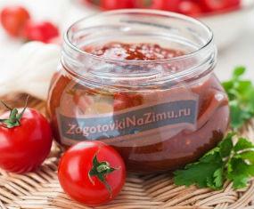 томатная паста на зиму: самые популярные рецепты с фото