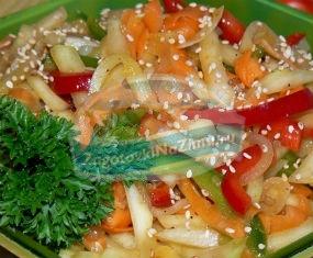кабачки с морковью: лучшие рецепты с фото.