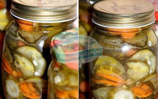 Рецепты салатов из огурцов на зиму с фото пошагово