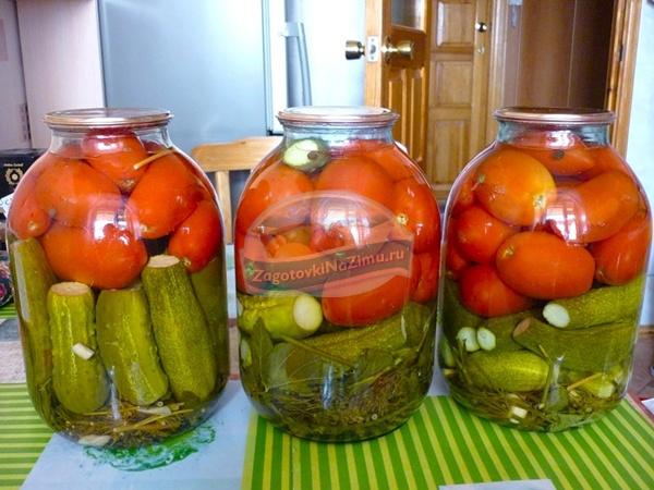 рецепты салатов из огурцов и помидоров с фото