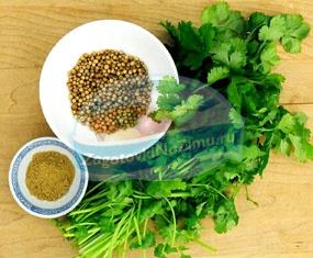 Кориандр: рецепты аппетитных блюд