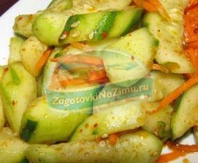 Огурцы с морковью на зиму: пошаговые рецепты с фото
