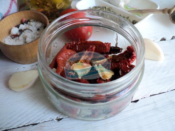 вяленые помидоры в масле на зиму