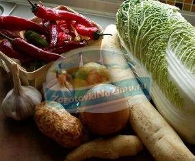 Рецепты из пекинской капусты на зиму с фото