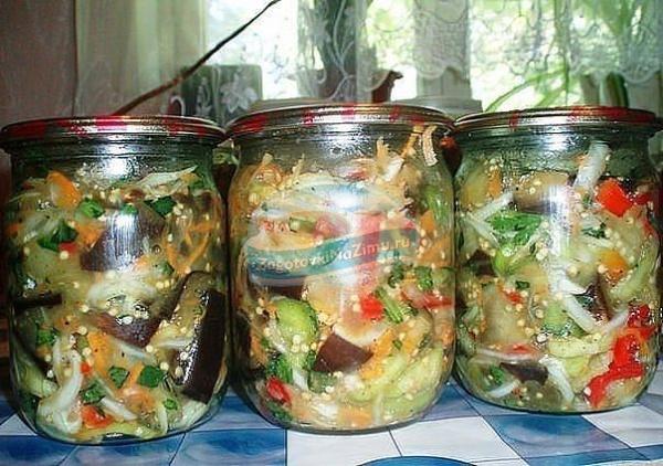 рецепты корейских салатов в банки