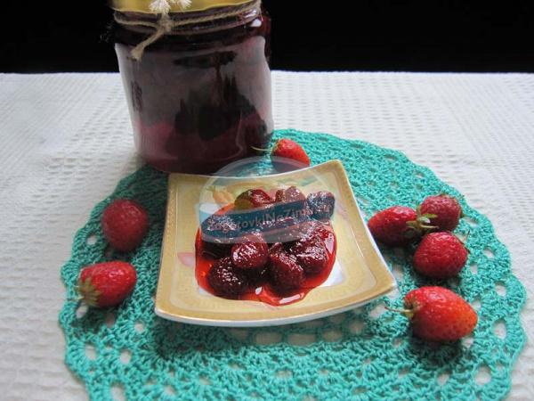 Рецепт варенья-пятиминутки из клубники