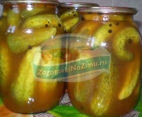 Огурцы в заливке на зиму: пошаговые рецепты с фото