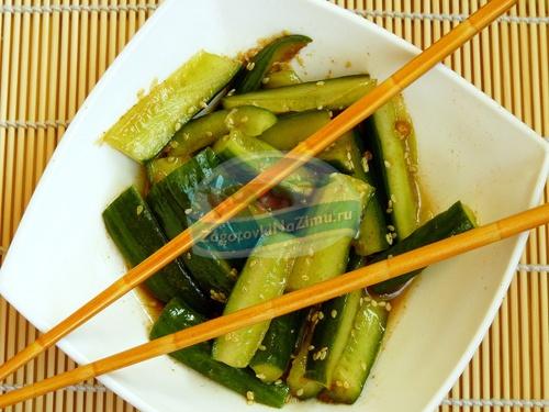 Огурцы по корейски на зиму: готовим вкусно и просто. Лучшие рецепты