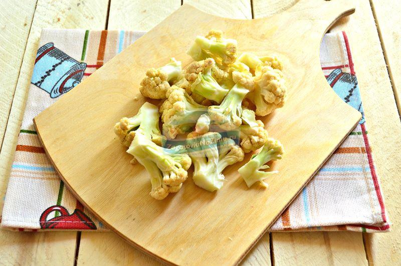 Пошаговый рецепт маринованной цветной капусты