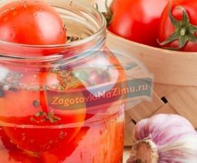 Соление помидоров в банках на зиму: популярные рецепты с фото.