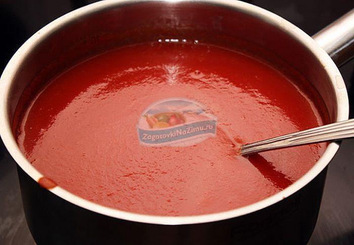 Как сделать томатный соус в домашних условиях