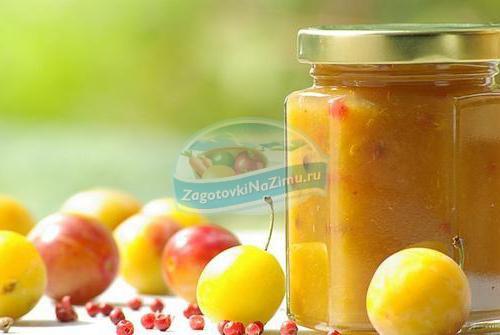 варенье из желтой сливы: золотые рецепты с фото