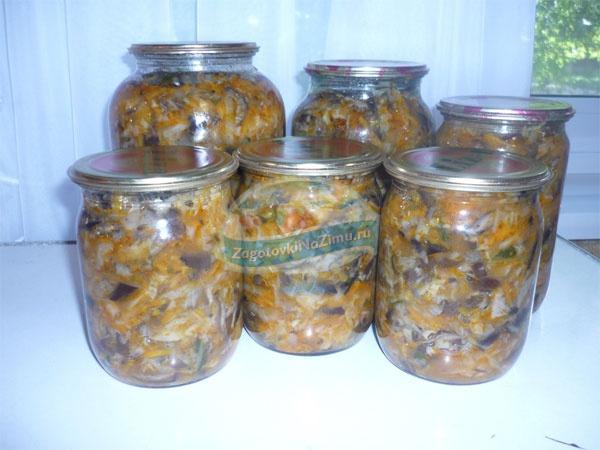 Салат из капусты на зиму без стерилизации. ТОП-5 с фото