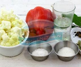 цветная капуста рецепты на зиму: золотые рецепты с фото
