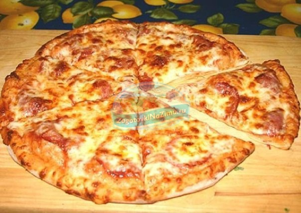 Пицца на сковороде на кефире: тонкости приготовления