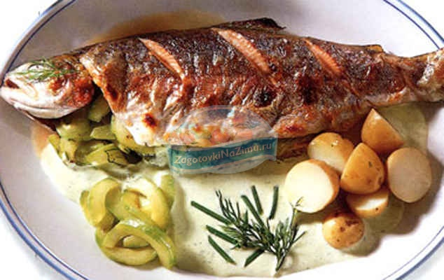 Рыба из натуральных хозяйств