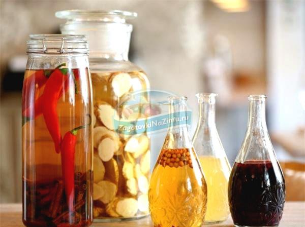 рецепты приготовления настоек из спирта