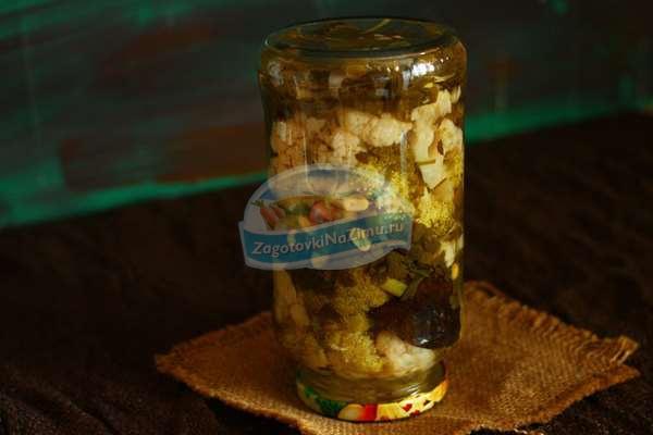 брокколи рецепты заготовки на зиму