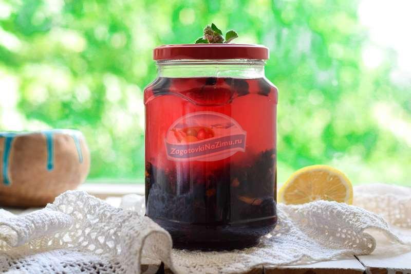 закатать компот из смородины пошаговый рецепт