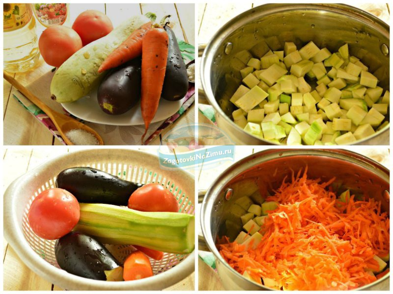 Простые салаты с баклажанами рецепты